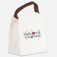 blackneedlespins.png Canvas Lunch Bag