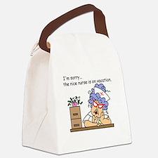glnurseseven.png Canvas Lunch Bag