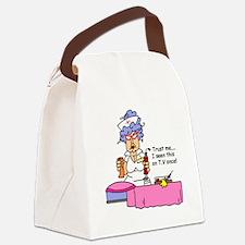 glnursefive.png Canvas Lunch Bag