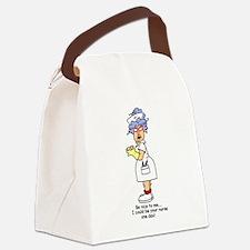 glnursethree.png Canvas Lunch Bag