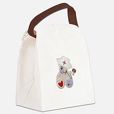 nursebeartee.png Canvas Lunch Bag