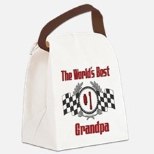 Racing1GRANDPA.png Canvas Lunch Bag