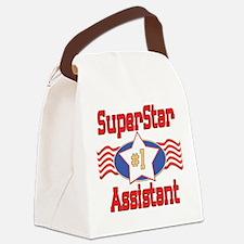 SUPERSTARAssistant.png Canvas Lunch Bag
