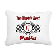 Racing1PAPA.png Rectangular Canvas Pillow