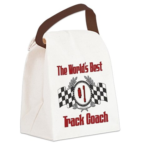 Racing1TRACKCOACH.png Canvas Lunch Bag