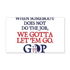 Gotta let 'em go Wall Decal