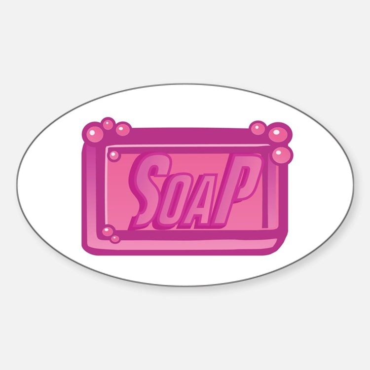 SoaP Oval Decal