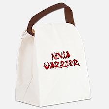 Ninja Warrior Canvas Lunch Bag