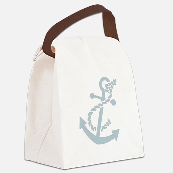 nauticaltransparent.png Canvas Lunch Bag