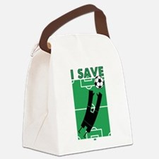 isaveballs.png Canvas Lunch Bag