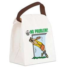 soccernoproblemgirl.png Canvas Lunch Bag