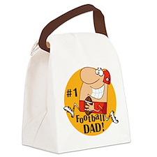 numberonefootbaldad.png Canvas Lunch Bag