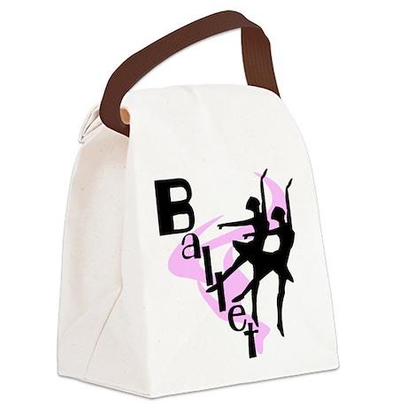 BALLETGIRLS.png Canvas Lunch Bag