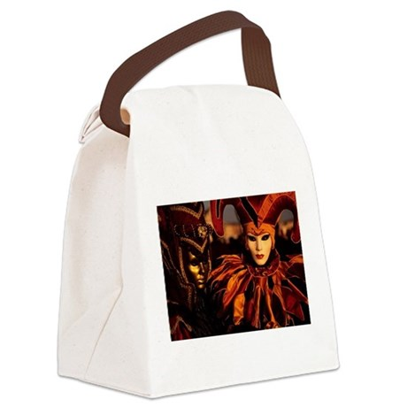 14x10_print maskwomencopy.png Canvas Lunch Bag