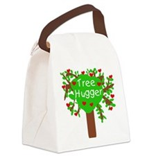 TREEHUGGERSHIRT.png Canvas Lunch Bag