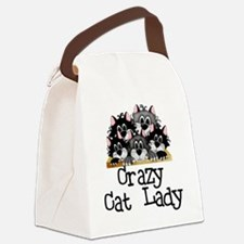crazycatlady.png Canvas Lunch Bag