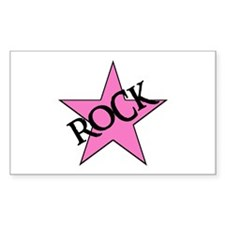 ROCK STAR Rectangle Decal