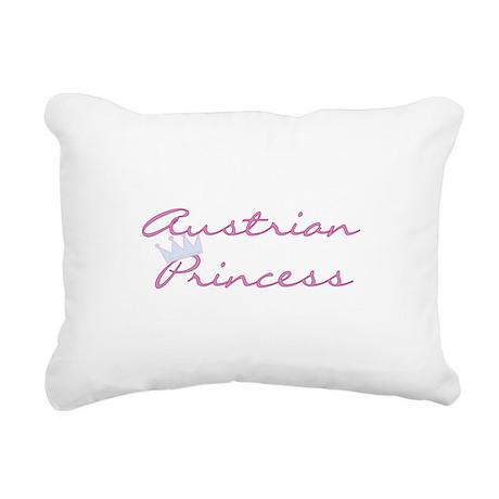 craustrianprincess.png Rectangular Canvas Pillow