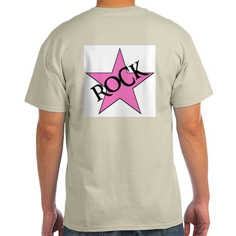 ROCK STAR Ash Grey T-Shirt