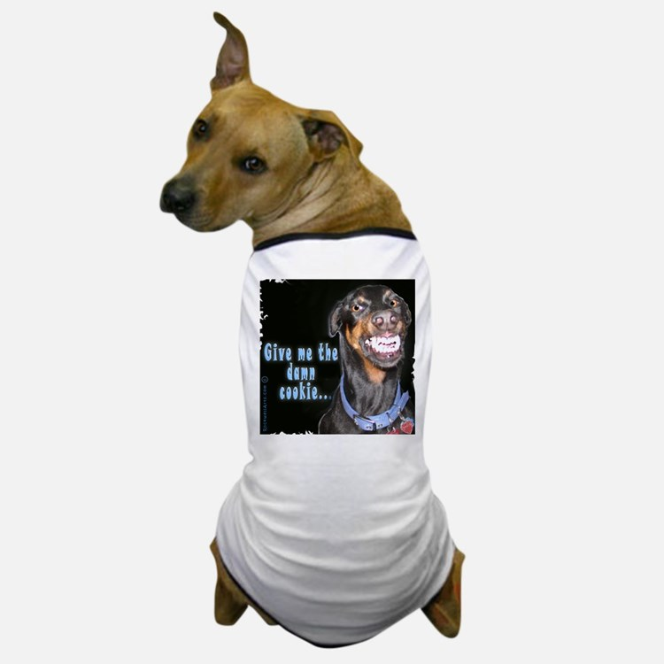 Doberman Pinscher Smiles Dog T-Shirt