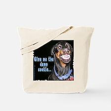 Doberman Pinscher Smiles Tote Bag