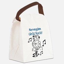 norwegiangirlsrock.png Canvas Lunch Bag