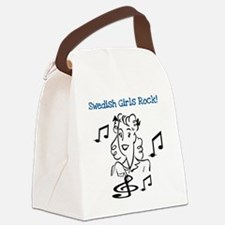 swedishgirlsrock.png Canvas Lunch Bag