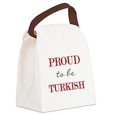 PROUDTURKISH.png Canvas Lunch Bag