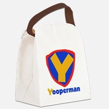 YOOPERMANTEE.png Canvas Lunch Bag