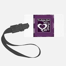 Blanket Twilight Purple girl edward.jpg Luggage Tag