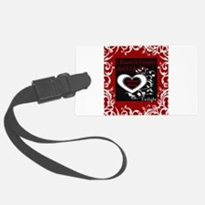 Blanket Twilight Kissed A Vampire copy.jpg Luggage Tag