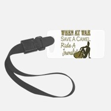 Save A Camel Ride A Journalist copy.png Luggage Tag