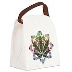Weeds emblem copy.png Canvas Lunch Bag