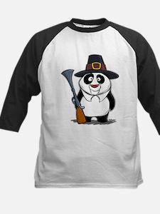 Thanksgiving Panda Pilgrim Tee