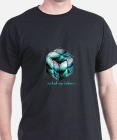 Kicked-up Cubes #5 - Male Torso T-Shirt