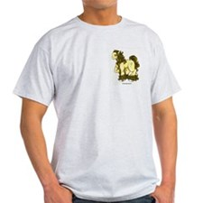 Yellow Panormo Ash Grey T-Shirt