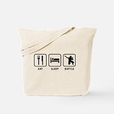 Eat Sleep Battle Tote Bag
