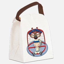 123hockeyboythree.png Canvas Lunch Bag