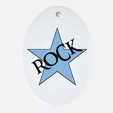 ROCK STAR Oval Ornament