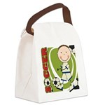 KIDSOCCERONE.png Canvas Lunch Bag