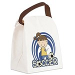SPORTSGIRLTWO.png Canvas Lunch Bag