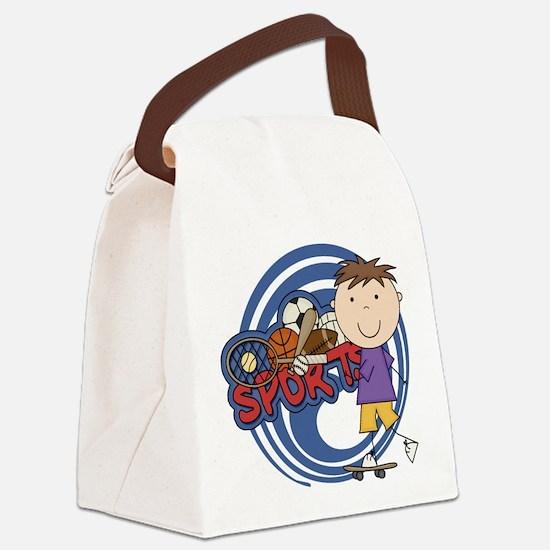 SPORTSSFOUR.png Canvas Lunch Bag