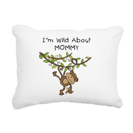 KPMDOODLESwilddMOMMY.png Rectangular Canvas Pillow