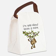 KPMDOODLESwilddNANAPAPA.png Canvas Lunch Bag