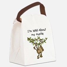 KPMDOODLESwilddauntie.png Canvas Lunch Bag