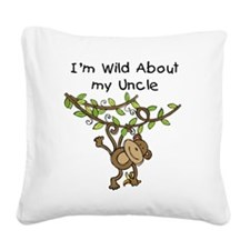 KPMDOODLESwilduncle.png Square Canvas Pillow