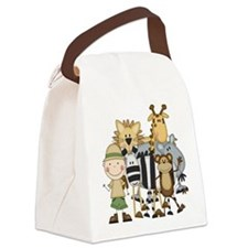 SAFARIBOY.png Canvas Lunch Bag