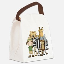 safarigirl.png Canvas Lunch Bag