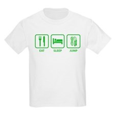 Eat Sleep Jump T-Shirt