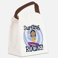 123girlsurfer.png Canvas Lunch Bag